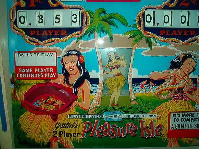 Pleasure Isle Pinball Mods