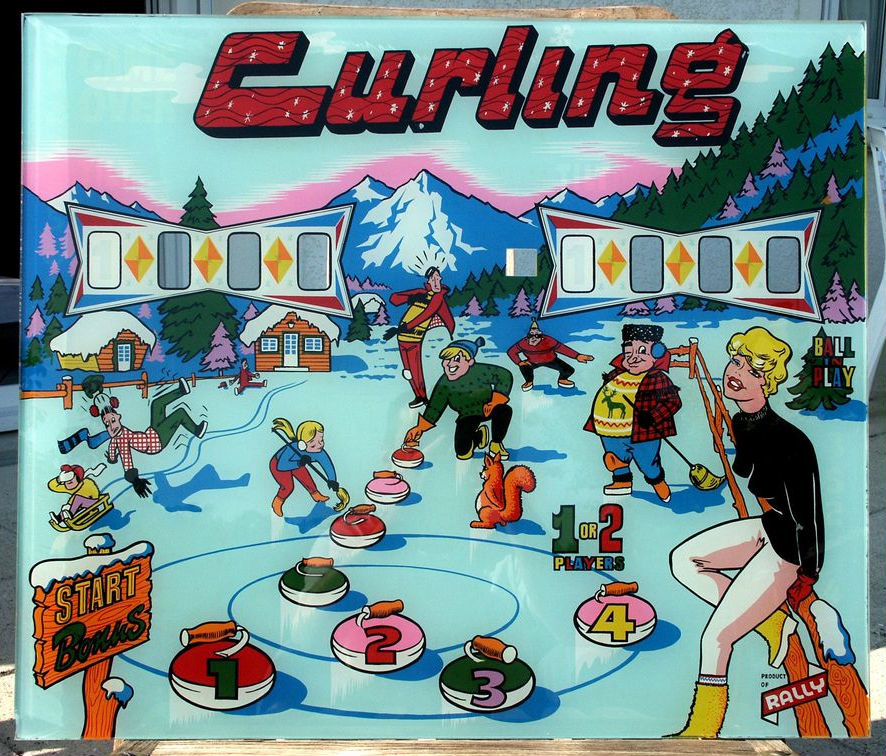 Curling Pinball Mods