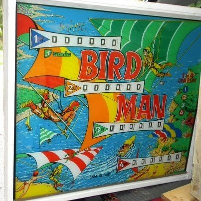 Bird Man Pinball Mods
