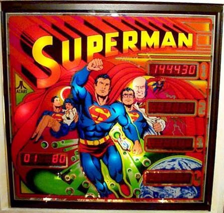 Superman Pinball Mods