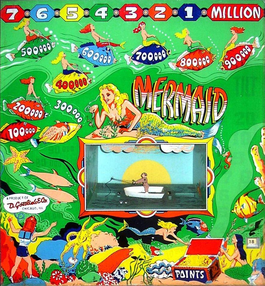 Mermaid Pinball Mods