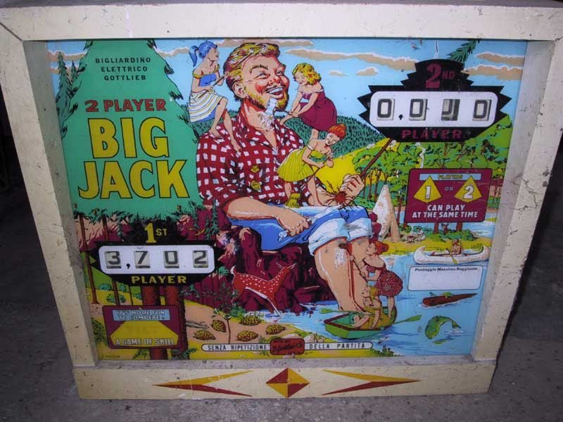 Big Jack Pinball Mods