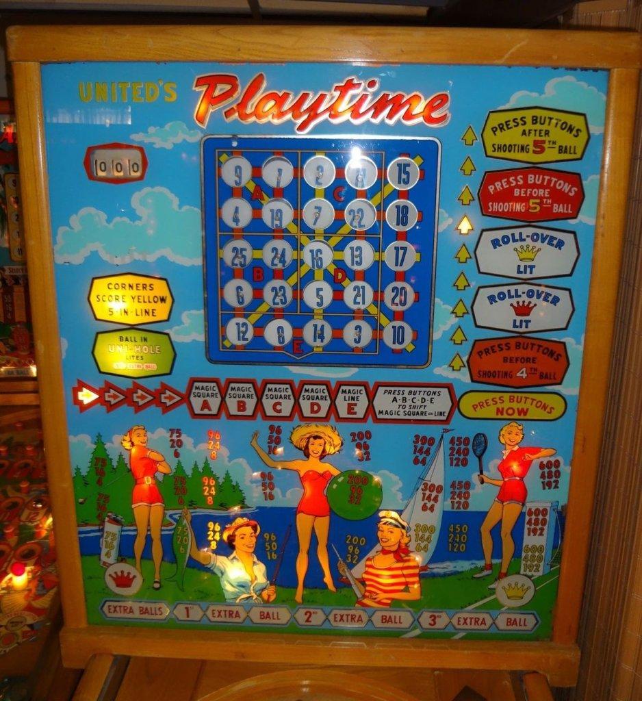 Playtime Pinball Mods