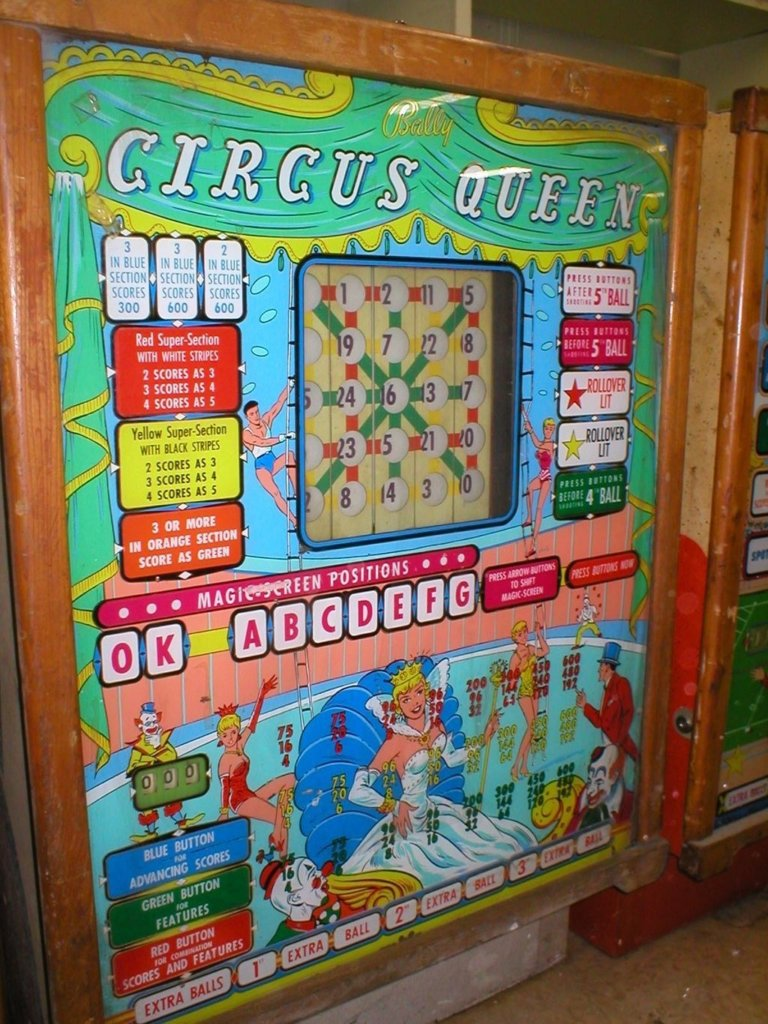 Circus Queen Pinball Mods