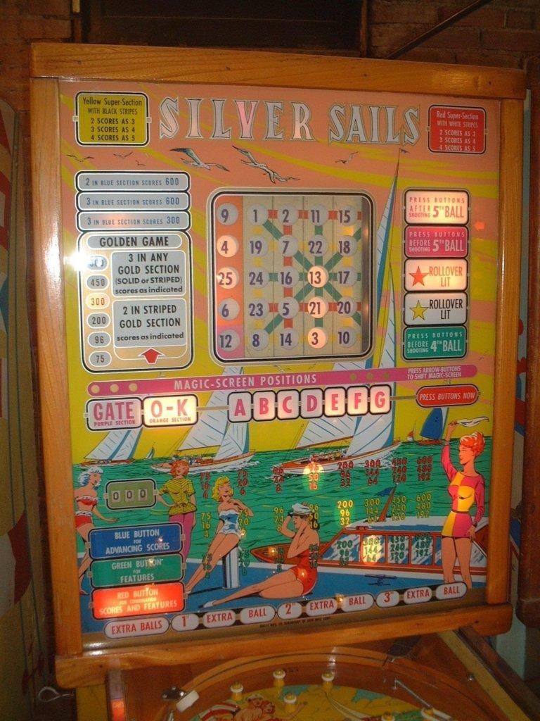 Silver Sails Pinball Mods