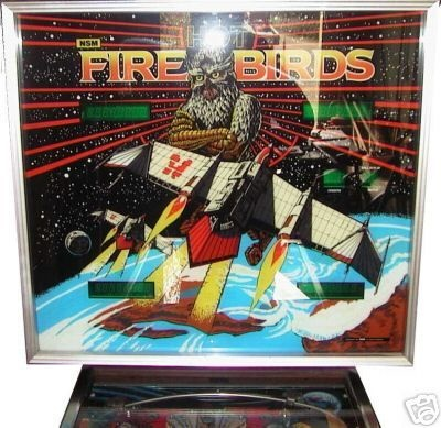 Hot Fire Birds Pinball Mods