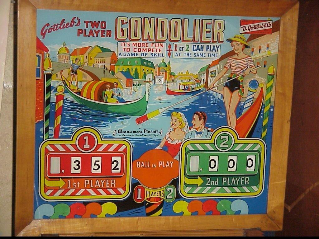 Gondolier Pinball Mods