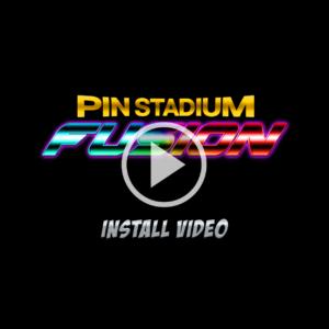 Pinball Mod Pin Stadium Fusion Install