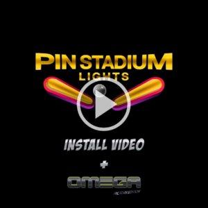 Pinball Mods Pinball LED Lights: Pin Stadium Installation