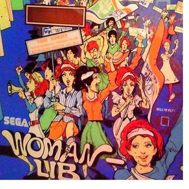 Woman-Lib Pinball Mods