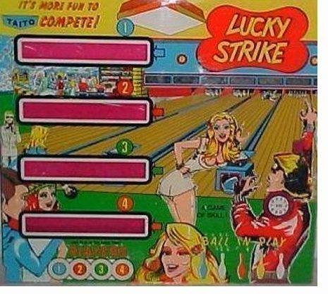 Lucky Strike Pinball Mode