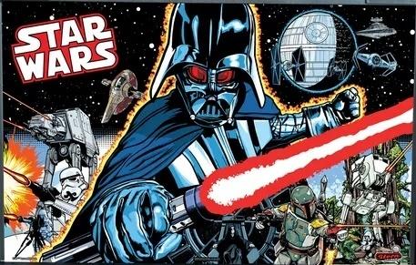 Star Wars Comic Art (Premium)
