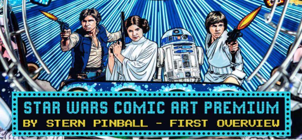 Star wars Comic Art Premium by Stern Pinball