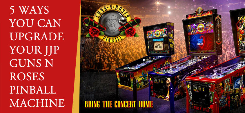 JJP Guns N Roses Pinball Machine
