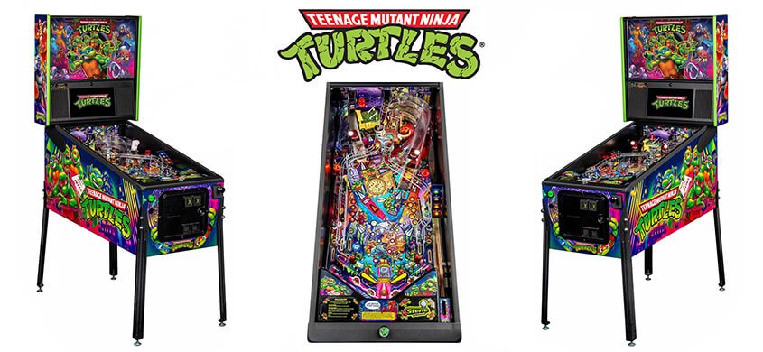 TMNT Pinball Machines