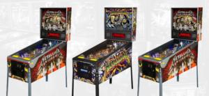 Metallica Pinball Machines