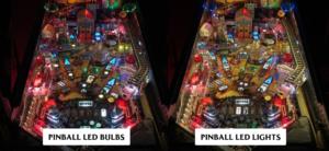 Pinball led bulbs vs pinball led lights