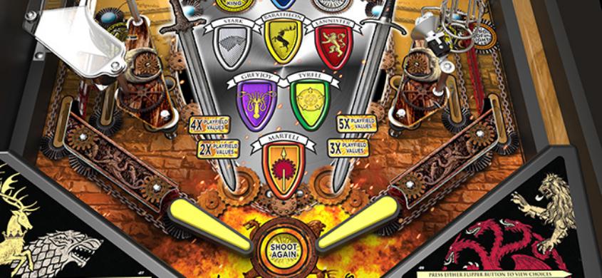 Game Of Thrones pinball machine