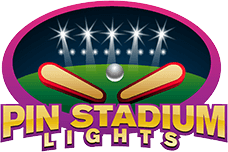 Pin Stadium Lights Pinball LED Lights
